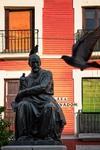 Mr Martínez and the pigeons